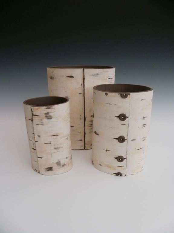Inspired by silver birch bark